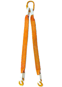 Строп текстильный двухветвевой 2СТ-20,0т.