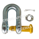 Скоба такелажная прямая СА (шплинт) 3,25т.