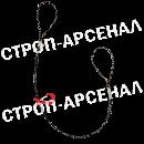 """Чокер с """"плавающим"""" крюком 1,6т - 1,2м"""