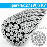 Стальной канат IperFlex 27(W) x K7 d10