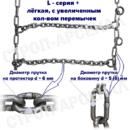 ЦП-27х8.5-15/  «Лесенка» / L-series plus
