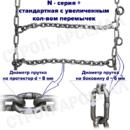 ЦП-315/80 R22,5/ «Лесенка» / N-series plus