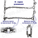 ЦП-9,00-20 (260x508)/ «Лесенка» / S-series