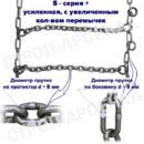 ЦП-315/80 R22,5/ «Лесенка» / S-series plus