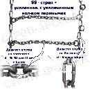 Цепи противоскольжения «Лесенка» / SS-series+