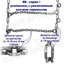 ЦП-9,00-20 (260x508)/ «Лесенка» / SS-series plus