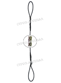 Строп канатный петлевой СКП1 (УСК1) - 4,0т.