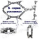 Цепи противоскольжения «Сота» / S-series