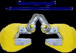 Торцевой захват для труб - 3,2т./2